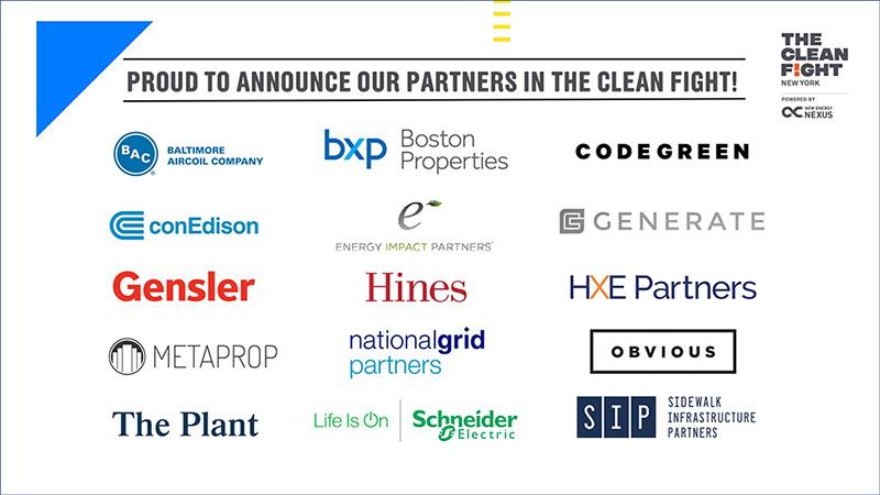 Clean Fight Partner Logos Card